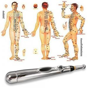 Electric Acupuncture Vibration Therapy Massage Meridian Energy Pen -