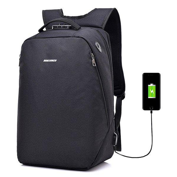 c8b6738d4c3 2018 Leisure Anti-theft Lock Laptop Backpack With Usb Port For Men ...