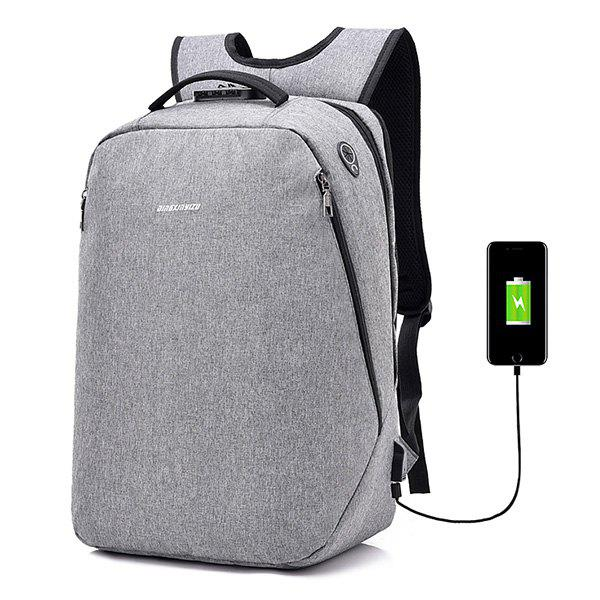 b7554f7375b 2019 Leisure Anti-theft Lock Laptop Backpack With Usb Port For Men ...