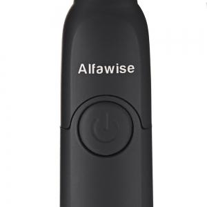 Alfawise SG - 949 Sonic Electric Toothbrush with Smart Timer Five Brushing Modes Waterproof with 3 Brush Heads -