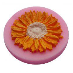 Facemile Sunflower Style Silicone Fondant Chocolate Molds for Cake Decoration -