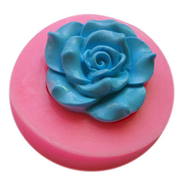 Facemile Flower Style Silicone Fondant Chocolate Molds for Cake Decoration