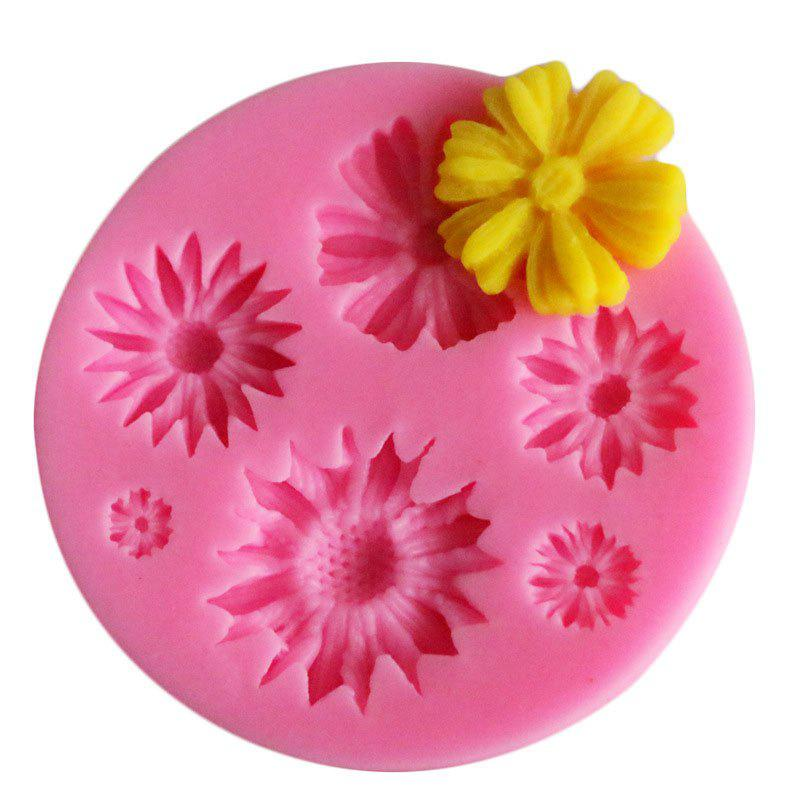 facemile Sunflower Cake Candy Chocolate Soap Silicone Mold