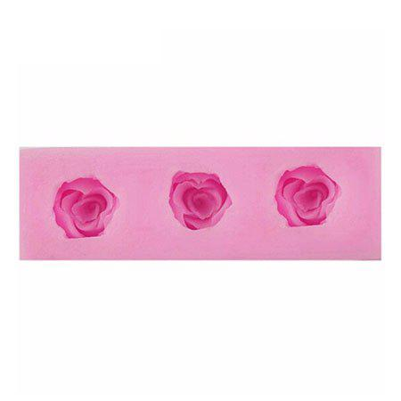 Facemile Rose Style Silicone Fondant Chocolate Molds for Cake Decoration