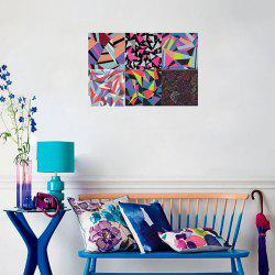 Abstract Geometric Pattern Removable Decal Wallpaper Wall Sticker for Decoration Set -