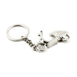 Motorcycle Style Key Ring for Decoration -