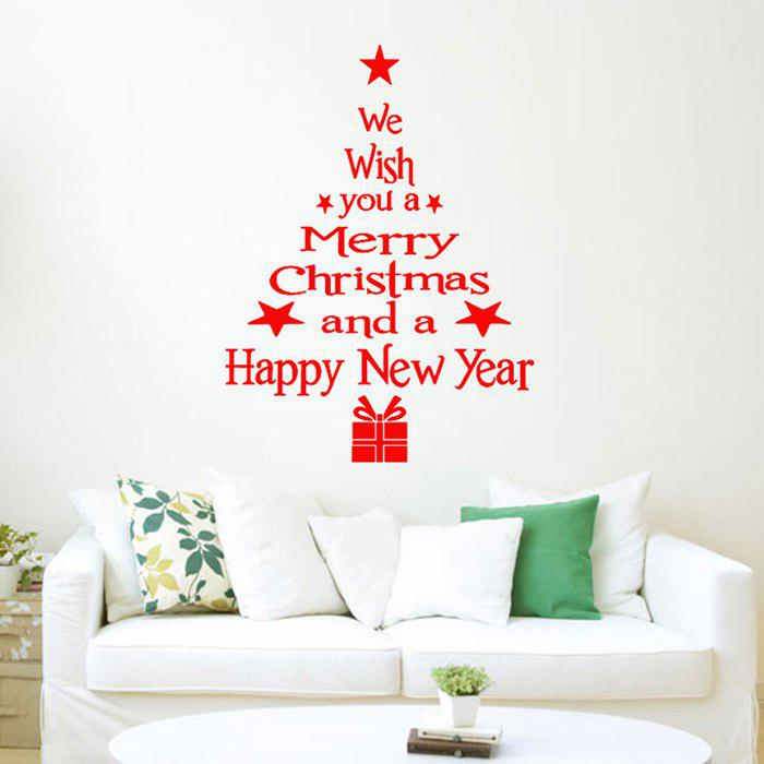Christmas Style Glass Sticker Set for Home Stores Window Decorations