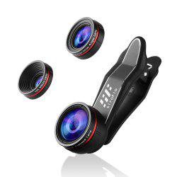 siroflo 3 in 1 Cell Phone Camera Lens Kit -