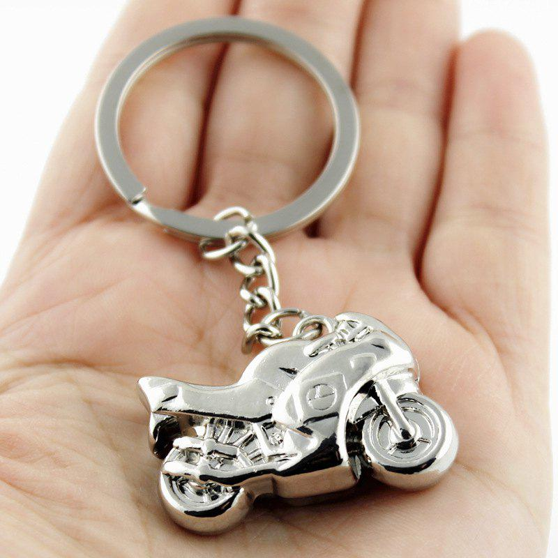 Chic Stylish Keychain Male Motorcycle Decoration Toy