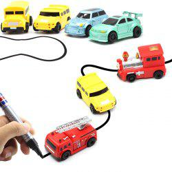 Magic Marker Pen Line Inductive Vehicle Toy for Kids 1pc -