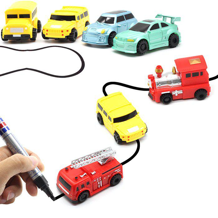Latest Magic Marker Pen Line Inductive Vehicle Toy for Kids 1pc