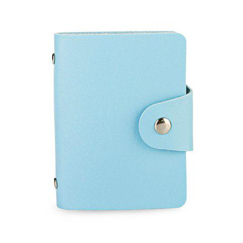 Unique DUDINI Stylish Business PU Credit Card Holder