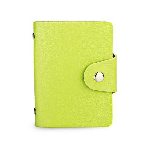 Chic DUDINI Stylish Business PU Credit Card Holder