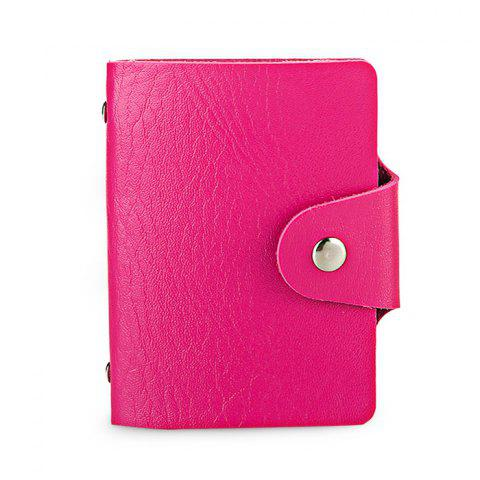 Fancy DUDINI Stylish Business PU Credit Card Holder