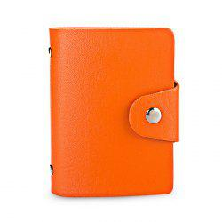 DUDINI Stylish Business PU Credit Card Holder -