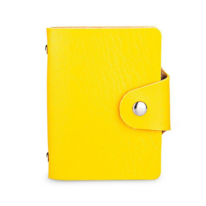 Affordable DUDINI Stylish Business PU Credit Card Holder
