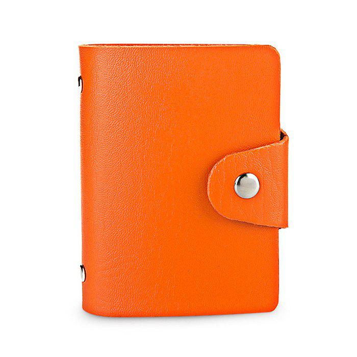 Store DUDINI Stylish Business PU Credit Card Holder