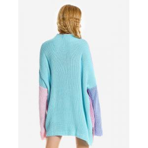 Colored Patchwork Sweater -