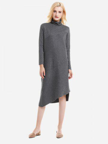 ZAN.STYLE Turtleneck Collar Dress