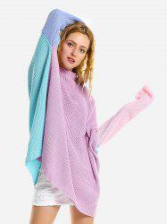 ZAN.STYLE Colored Patchwork Sweater -