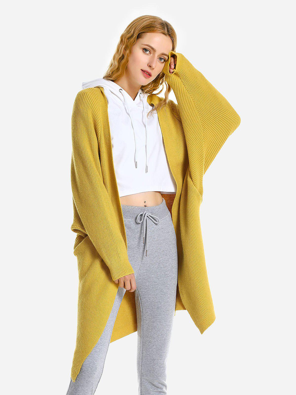 Affordable Loose Sweater Coat