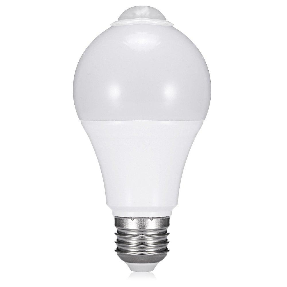 Corps humain infrarouge portatif intelligent de l'ampoule LED 12W intelligente détectant 85 - 260V