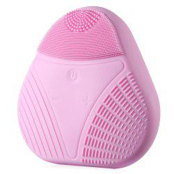 Electric Silicone Facial Cleaning Brush Smart Face Vibration Massager for Skin Care Spa -