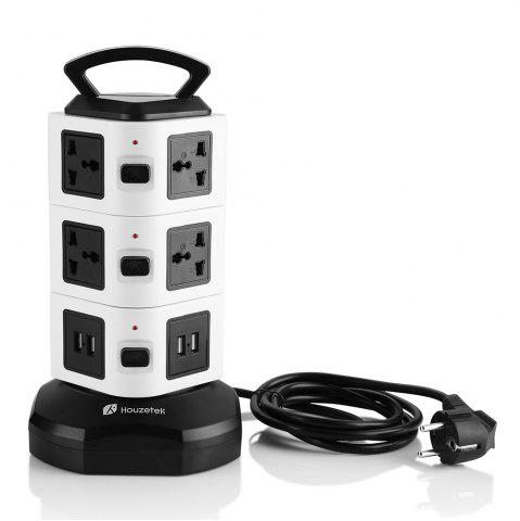 Buy Houzetek JW103 3 Layer Vertical Power Strip