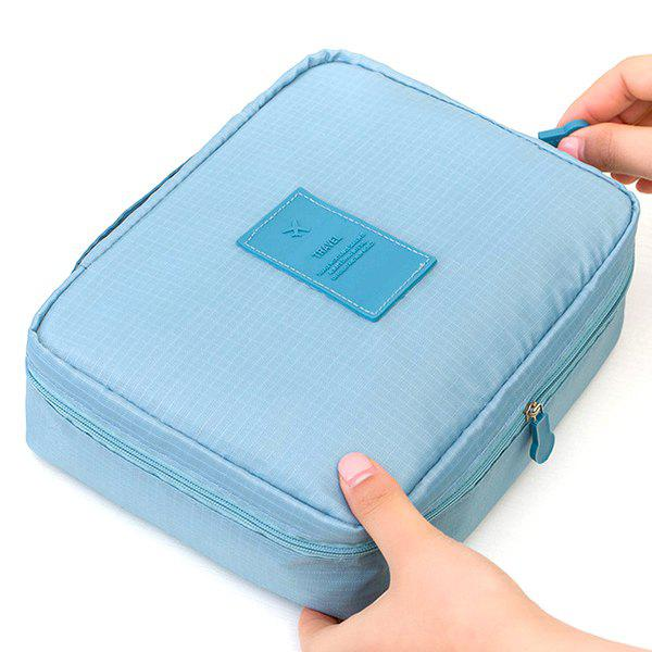 Shop Portable Multi-layer Cosmetic Bag