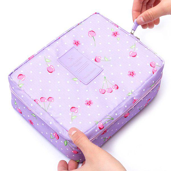 Affordable Portable Multi-layer Cosmetic Bag