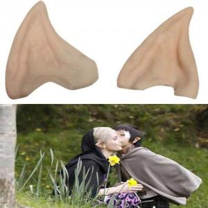 Halloween Elf Props Latex Eau De Toilette Faux Oreilles -