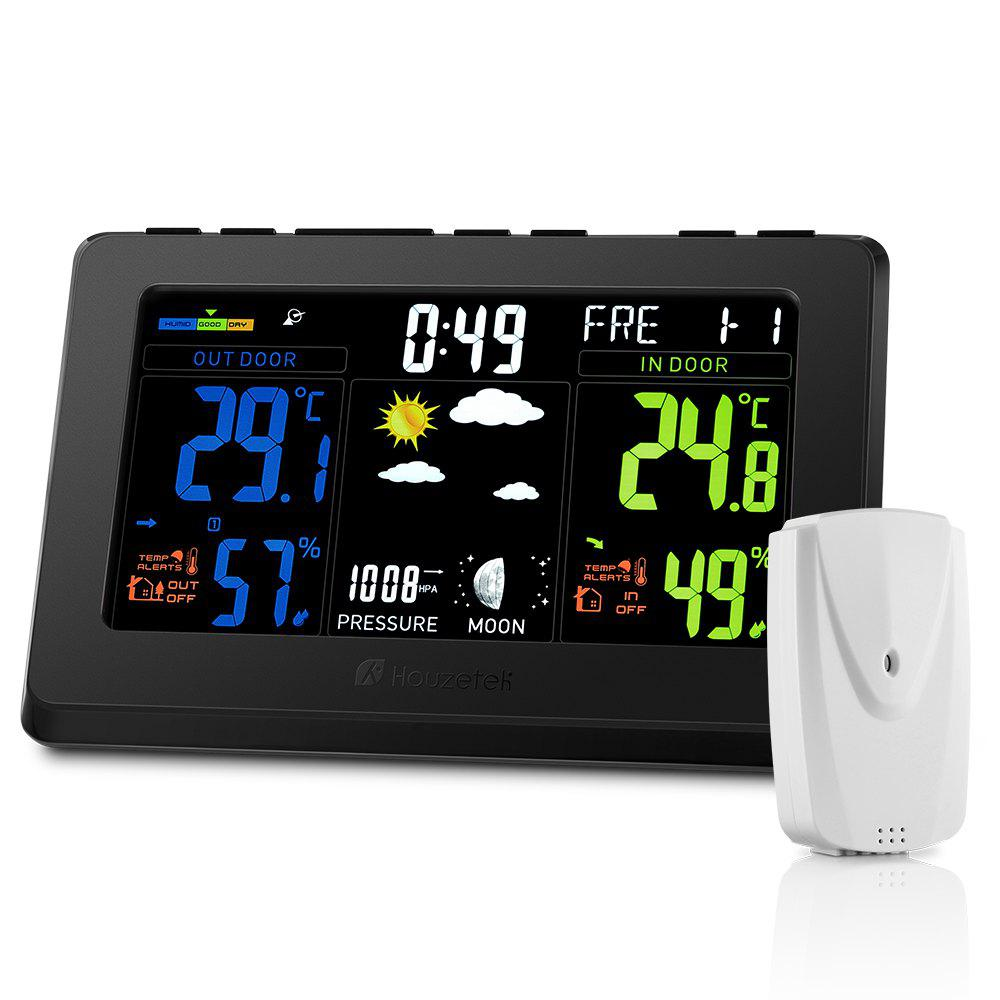 Shop Houzetek S657 Color Weather Station Forecast Temperature Humidity Monitor