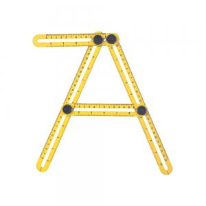Measuring Instrument Template Tool Four-sided Ruler Mechanism Slide -