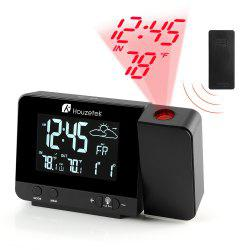 Houzetek 3531B Projection Clock -