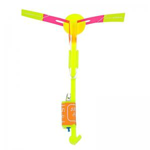 LED Light-up Rubber Slingshot Helicopter Toys for Kids 50PCS -