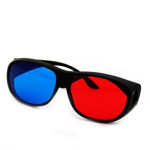New Red   Blue 3D Stereo Glasses