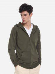 Pocket Hooded Sweatshirt -