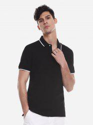 Contrast Color POLO Shirt -