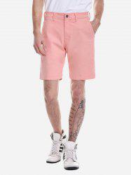 Shorts Zip Fly - Orange Rose 36