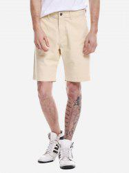 Zip Fly Shorts -