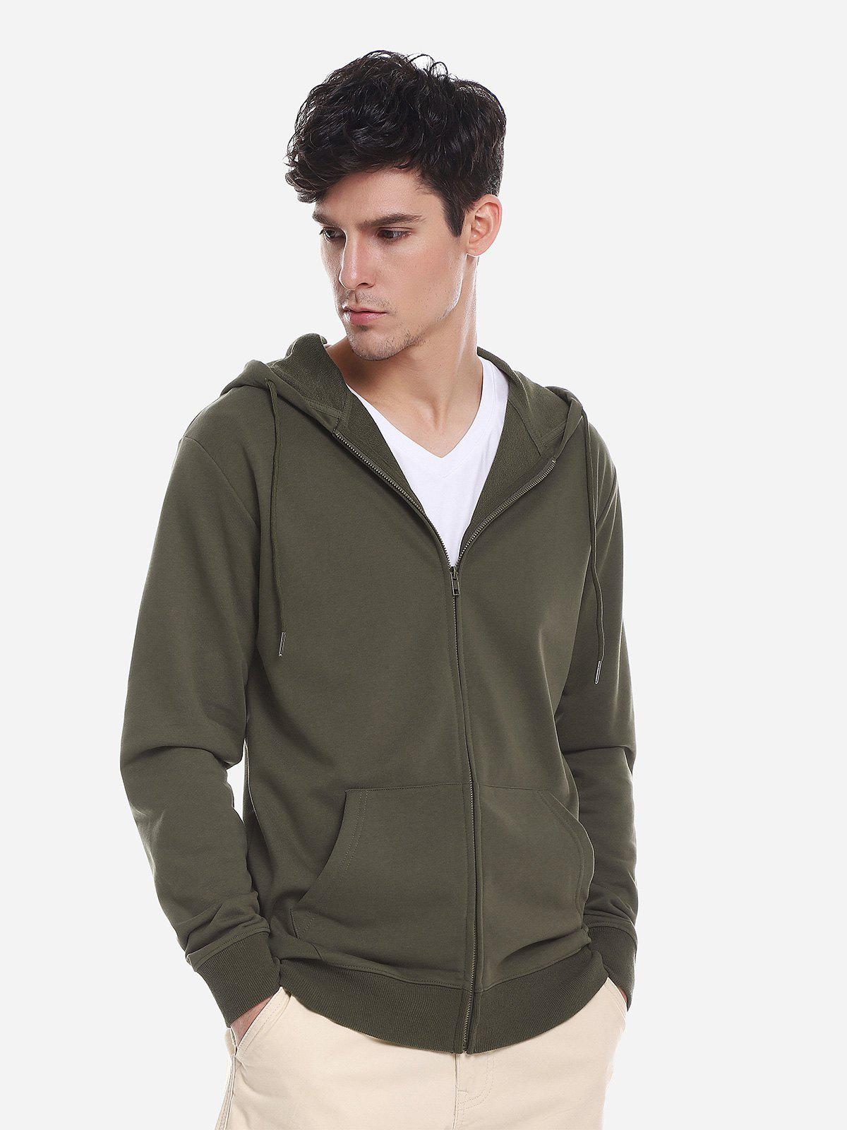 Fancy Pocket Hooded Sweatshirt
