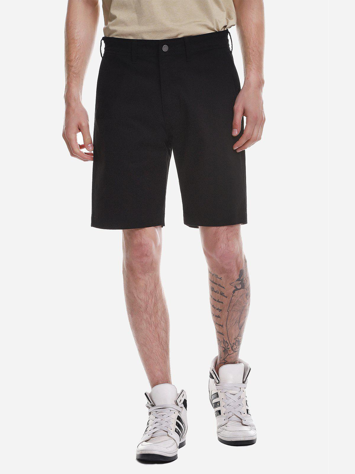 Shorts Zip Fly