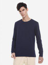 ZAN.STYLE Crew Neck Long Sleeve T Shirt -