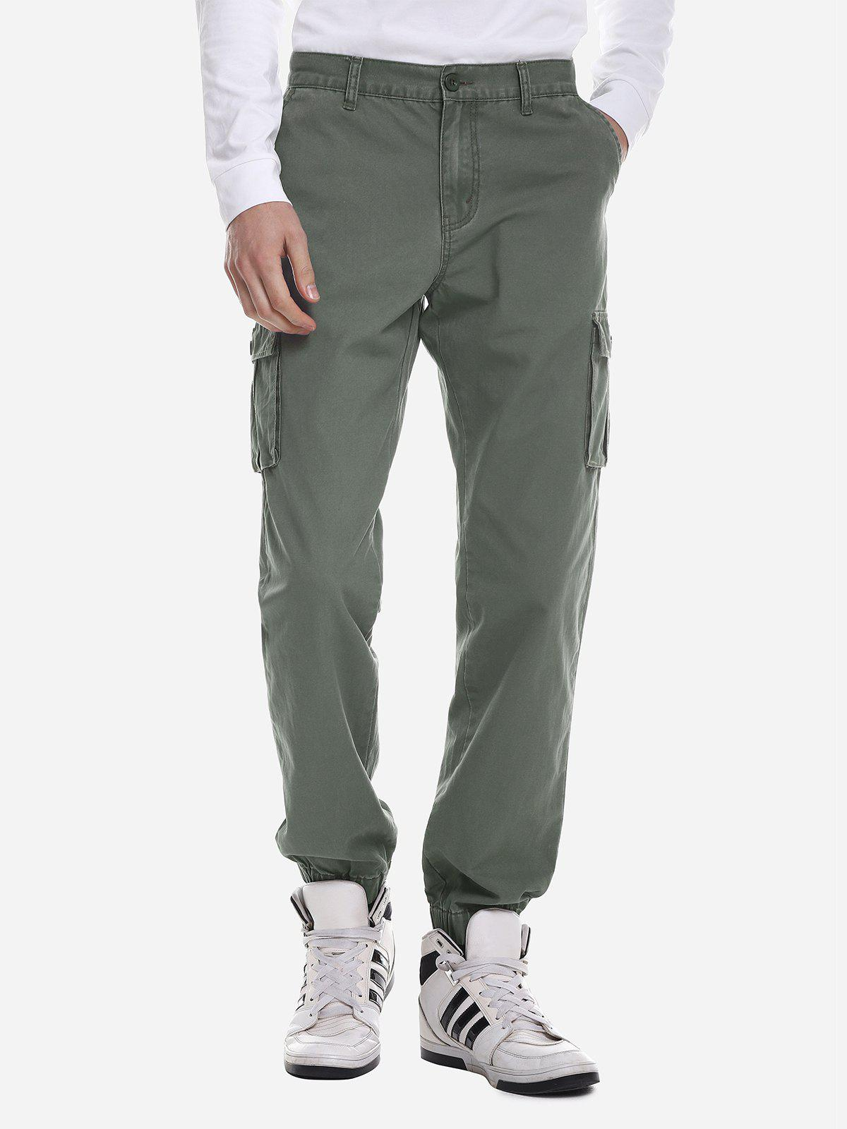 Shops ZANSTYLE Men Slim Cargo Pants