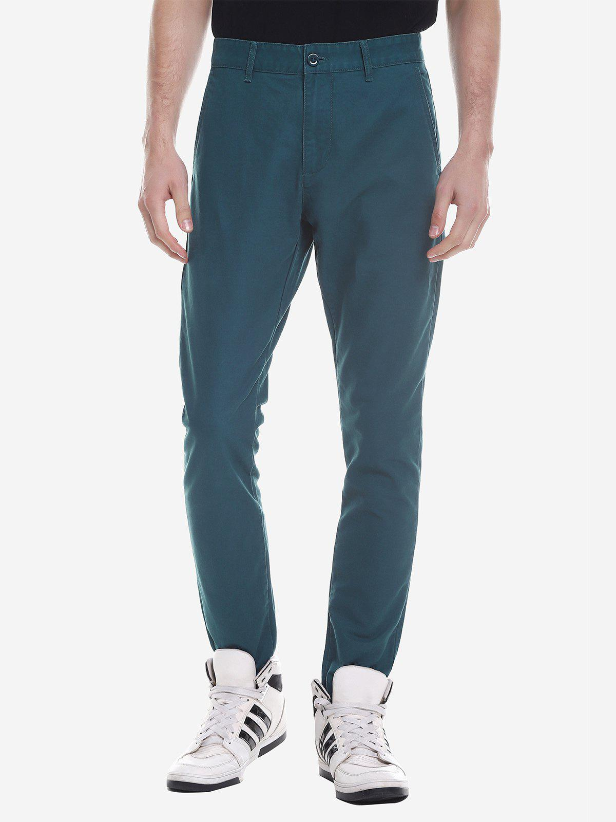 Trendy ZANSTYLE Men Slim Pants