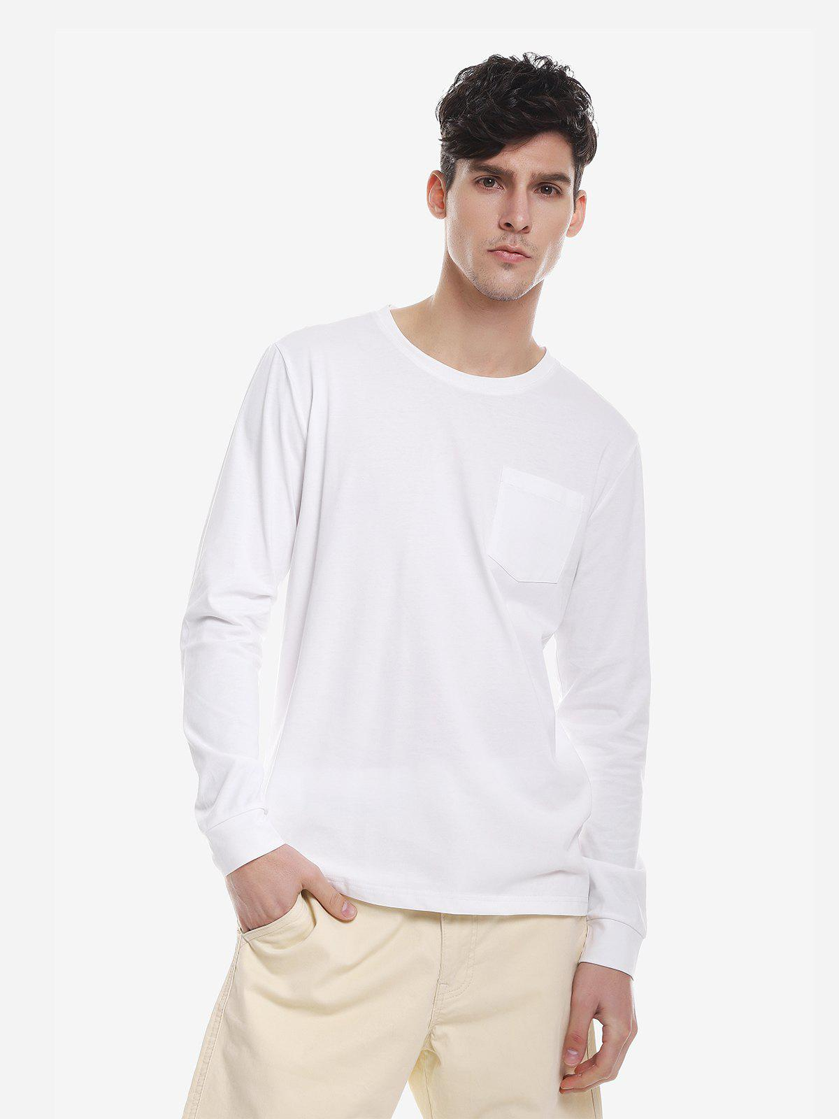 Store Crew Neck Long Sleeve T Shirt