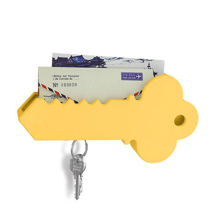 Outfits Creative Key Shape 2-in-1 Key Holder Mail Box