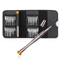 Gocomma Screwdriver Electronics Repair Tools Wallet 25 in 1 -