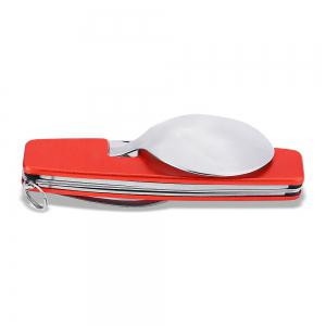 Portable Multifunctional 4 in 1 Folding Tableware for Camping -