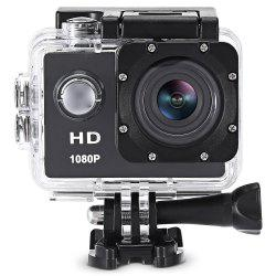 F80 1080P HD Action Camera with 30m Waterproof Case -